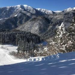 ハチ高原スキー場 大雪一過