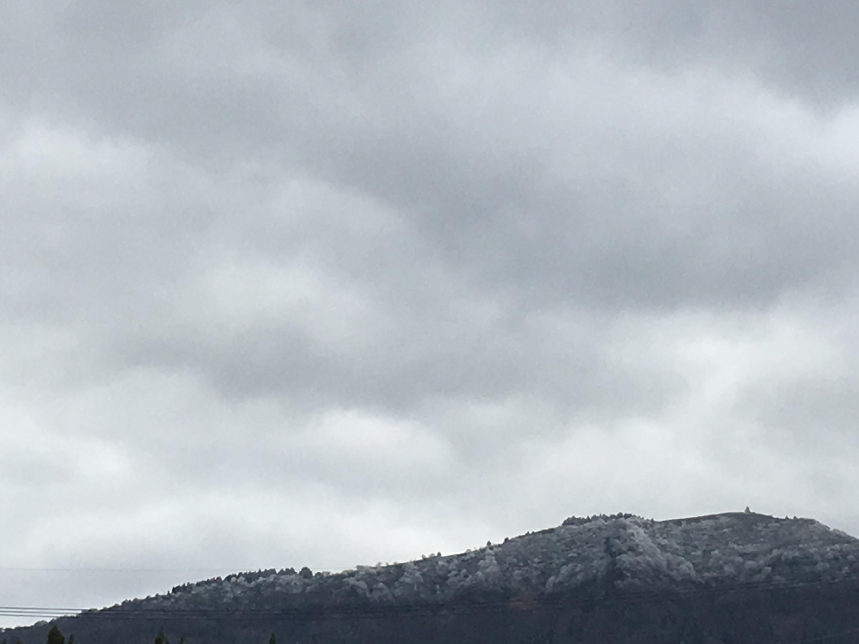 氷ノ山 初冠雪