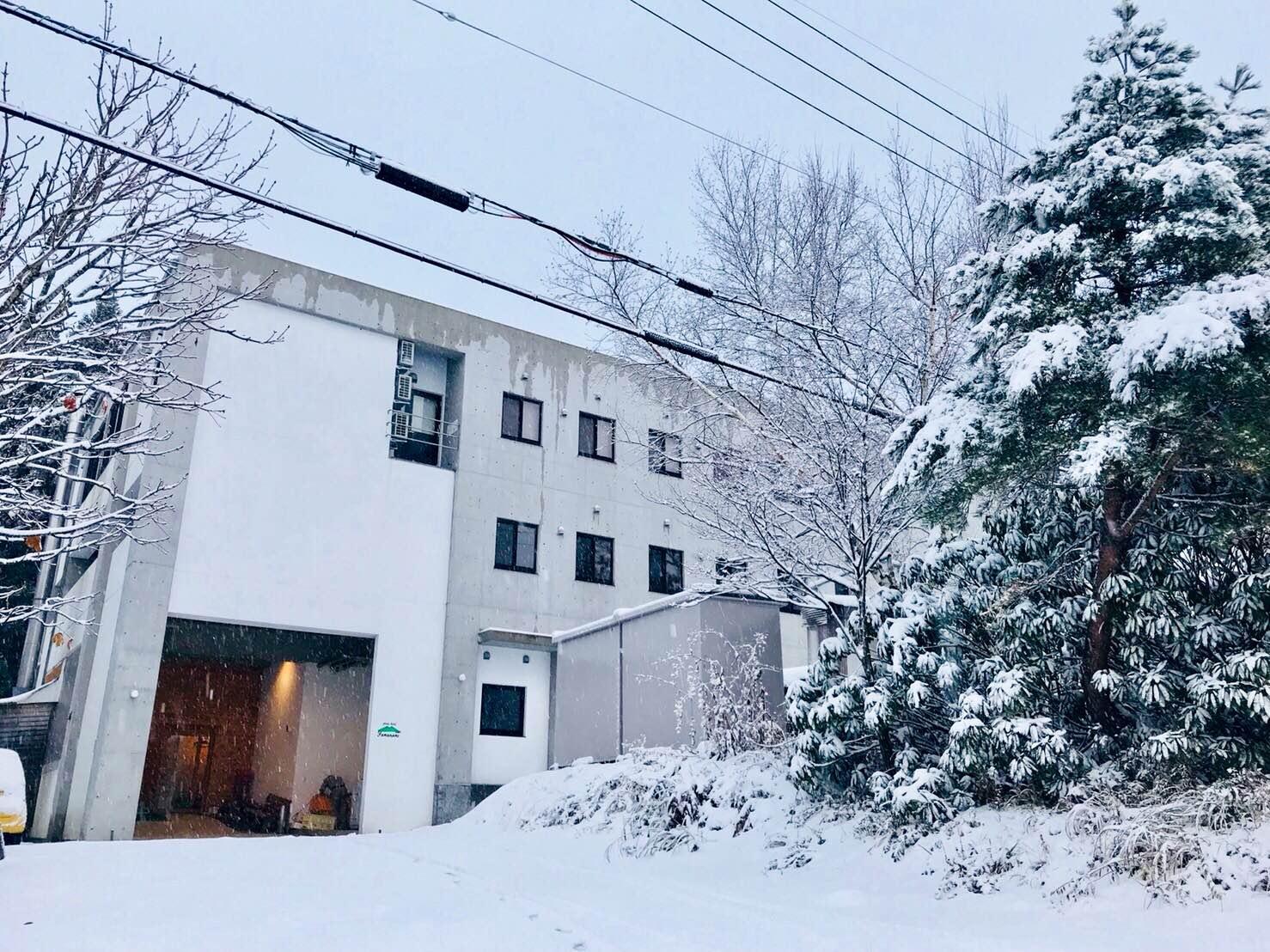 ハチ高原 初雪