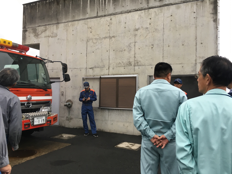 ハチ高原 グリーンホテルやまなみ 防火研修会