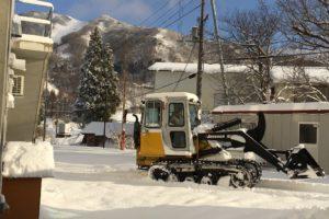 ハチ高原、今日も雪…!