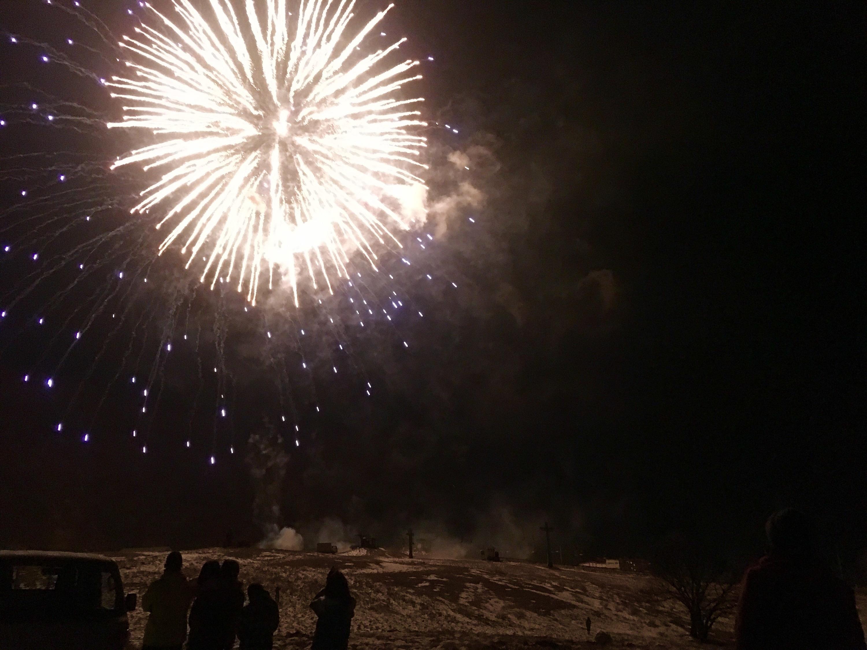 ハチ高原  やまなみ 新年 あけましておめでとうございます