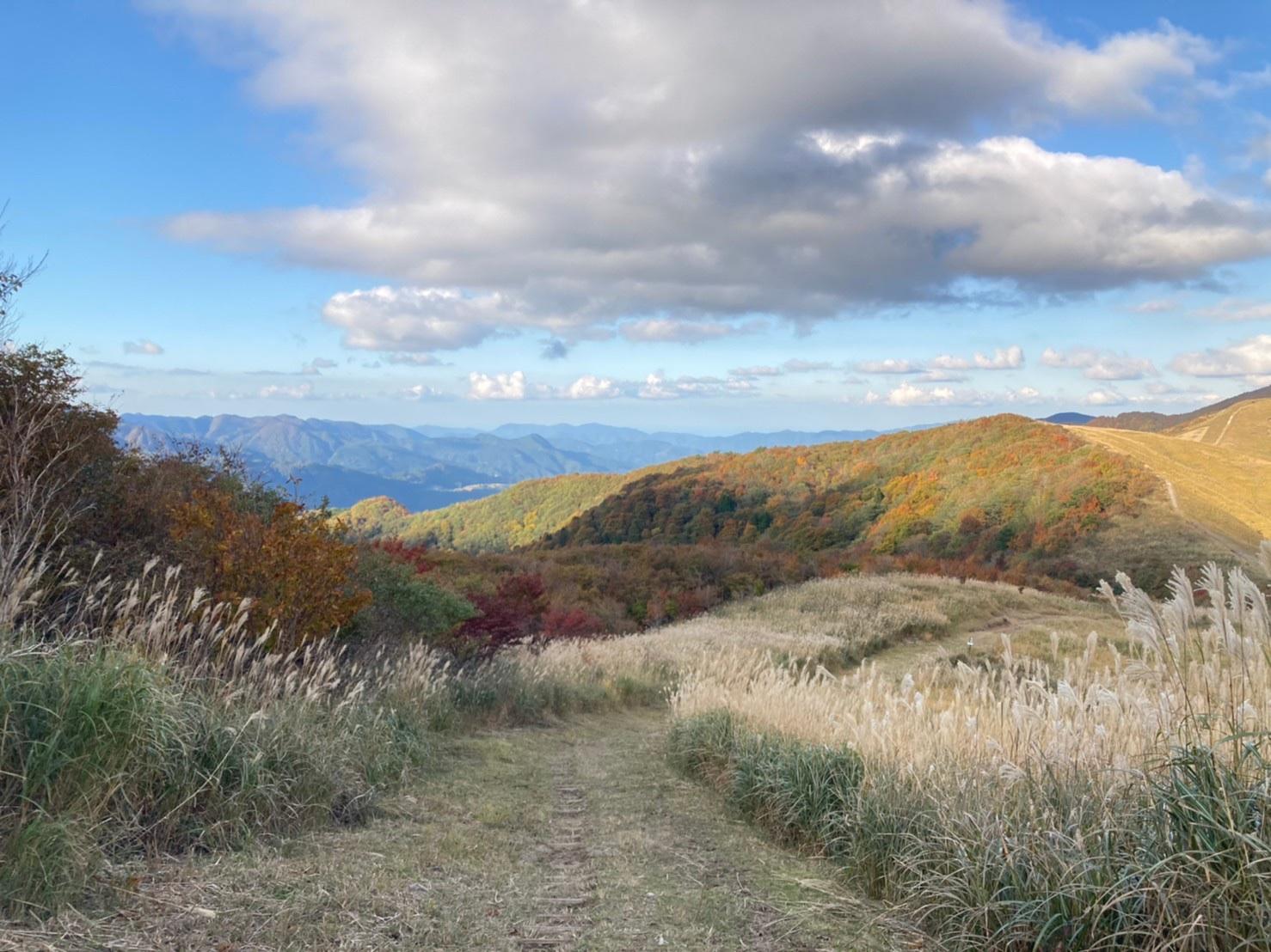 氷ノ山 登山 秋 紅葉