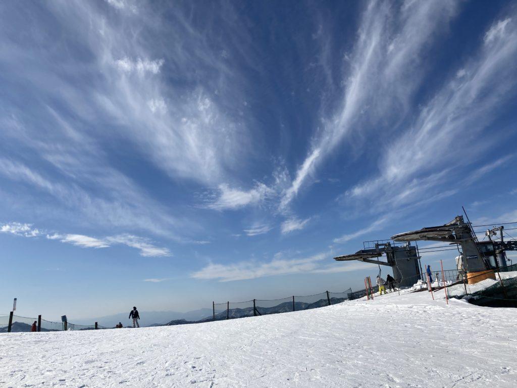 ハチ高原 春 スキー場 最終日