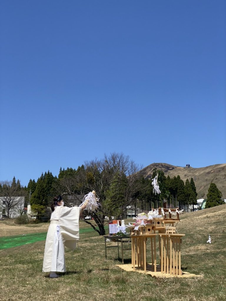 ハチ高原 山開き グリーンシーズン 登山 ハイキング
